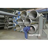 Buy cheap ASTM A335 P92 Seamless Alloy Steel Pipe High Yield Strength Wall Thickness 9.53-140 Mm product