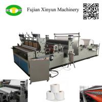 China High speed automatic perforating rewinding toilet paper making machine on sale