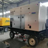 Buy cheap High Power Mobile Diesel Generator Auto Start Three Phase Output Low Vibration from wholesalers