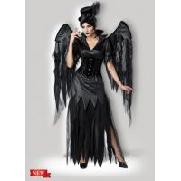 Buy cheap Midnight Raven 1138 Womens Halloween Costumes Dress In Black With Size XS To XXXL product