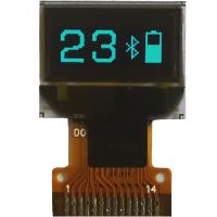 Buy cheap 0.49-inch OLED Display Module with 64x32 Dot Matrix, Blue Display Color and I2C Interface product