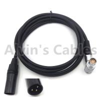 Buy cheap ALEXA MINI / AMIRA Camera Power Cable XLR 3 Pin Male To 2B 8 Pin Female Right Angle product