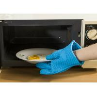 Buy cheap Household Silicone Oven Gloves For Cooking , High Temperature Resistant product