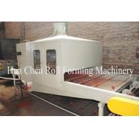 Buy cheap Automatic Stone Coated Roof Tile Machine , Vermiculite Roof Tile Forming Machine product
