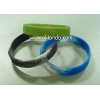Buy cheap Factory Custom Color Logo Brand Rubber Bracelet Silicone Wristband product