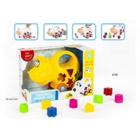 Buy cheap Educational Shape Sorting Matching Baby Blocks Toys Car Set 9Pcs PP Plastic Material product