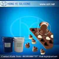 China Food grade RVT Liquid chocolate mold making silicone rubber on sale