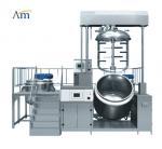 Buy cheap Electric Vacuum Emulsifying Mixer Machine , Strong Cutting Pharmaceutical Homogenizer product