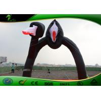 Buy cheap Horrible Inflatable Outdoor Halloween Ghost Arch / Inflatable Arch For Decoration product