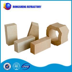 Buy cheap 2.75g /cm3 Low Creep 80% AL2O3 High Alumina Refractory Brick to Blast Furnace from wholesalers