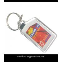 China 2015 Customized OEM Promotional Plastic Acrylic keychain/ key chain/keyring on sale