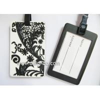 Buy cheap Chinese style European style new luggage tag custom beatiful flower image from wholesalers