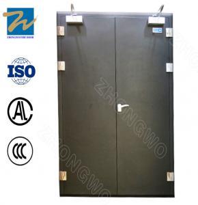 Custom Soundproof Rating Level 3 Steel Fire Door For Hotel , Hospital