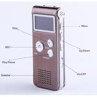 China digital voice recorder, MP3 voice recorder, voice recorder usb, 4GB/8GB on sale