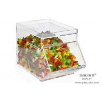 Buy cheap Acrylic Display Box For Sweet , Good Light Transmission Performance from wholesalers