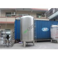 China 304 SS Strong 3000L Water Tank For Ro Stainless Steel 1000L Machine on sale
