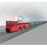 Buy cheap China Coal 7 Ton Trolley mine locomotive frequency conversion from wholesalers