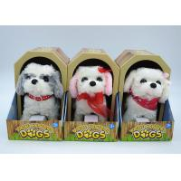 Buy cheap Electronic Children's Moving Puppy Toy , Toy Walking Dogs That Bark And Walk product