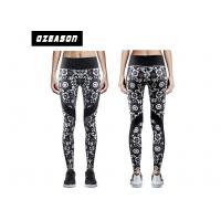 Buy cheap Sublimation Printed Women'S Fitness LeggingsNo Fade Quick Drying For Adult product