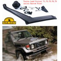 LLDPE Car snorkels for Toyota land cruiser 71 , 73 , 75 , 78 & 79 series Narrow Front 1985 - 2007  model