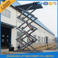 Buy cheap Fixed Electric Hydraulic Automotive Scissor Lift Car Parking Equipment with CE product