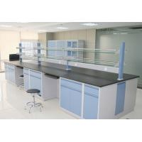 Buy cheap C/H Frame Steel And Wood Lab Tables Work Benches For Science Physical Laboratory from wholesalers