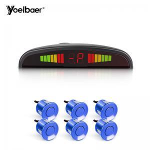Buy cheap HD Monitor 12V Car Reverse Sensor Set 6 Waterproof Sensors Easy Installation product