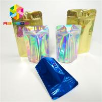 Buy cheap Laminated Holographic Laser 3d Display Bags Hologram Heat Transfer Vinyl Pouch from wholesalers