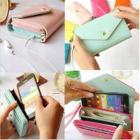 Buy cheap Universal Pouch Wallet PU Leather Cover Case iPhone 6Plus SamsungGalaxy S3 S4 S5 Note3 4 5 product