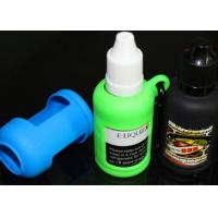Buy cheap e cig accessarie silicon cover for oil bottle 10ml/15ml/30ml silicon rubber case holder from wholesalers