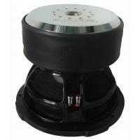 Buy cheap Low fs, high SPL high performance Competition Car Subwoofers,Big motor, RMS 5000W , big Kevlar cap product