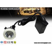Buy cheap 3.7V 6.6Ah Lithium Battery Wire Mining Headlamp , IP68 Highest Water Prevention Grade from wholesalers