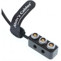 Buy cheap 1 to 3 Mini Power Splitter Box Cable Fischer RS 3 Pin Male to 3 2 Pin Female Box for ARRI Alexa 20CM product