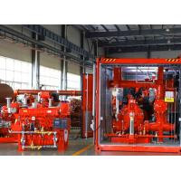 Buy cheap 1000GPM@185PSI Skid Mounted Fire Pump NFPA20 Standard For Oil Terminals product