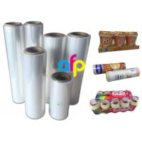Buy cheap Premium Center Folded Polyolefin Shrink Film For Heat Wrapping Moisture Proof product