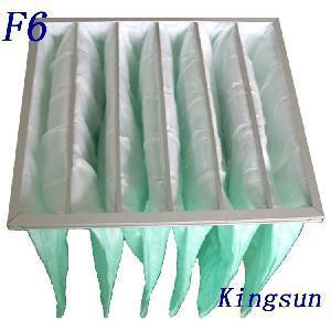 Buy cheap Medium Efficiency F6 Pocket Filter product