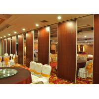 Buy cheap Aluminium Movable Partition Folding Acoustic Room Dividers Sound Proof  Wall product