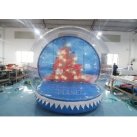 Buy cheap 0.8mm Transparent Inflatable Snow Globe Photo Booth product