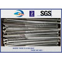 Buy cheap Customized High-Strength Hex Bolts For Rail Track with nuts and washers product