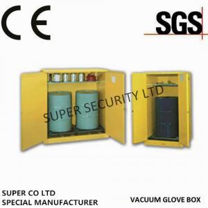 Single Door Hazardous  Chemical Drum Flammable Storage Cabinet For Flammable Liquids Steel Stainless Steel