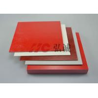 Colorful GPO3 Fiberglass Sheet , Polyester Sheet Excellent Mechanical Strength