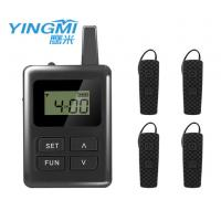 Buy cheap Built - In Li Battery Bluetooth Tour Guide System 100 Channel Customized Logo product