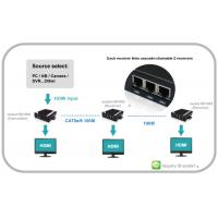 Buy cheap VGA Video over IP Extender with Audio can chian able HDMI and RS232 and IR product