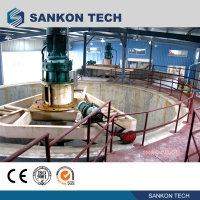Buy cheap Screw Connection 50m3 Mixer AAC Brick Making Machine product