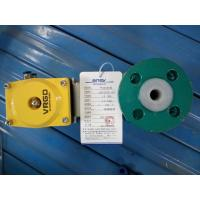 China Dn25 Mining Consumables , Mining Equipment Spares Fluorine Pneumatic Ball Valve on sale