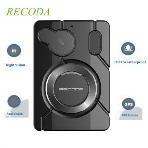 Buy cheap Recoda M506 Police Body Worn Camera FULL HD Recording IR IP67 Waterproof from wholesalers