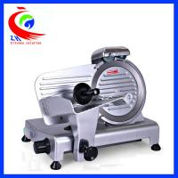 China Restaurant Food Processing Machinery Semi Automatic Frozen Meat Slicer on sale