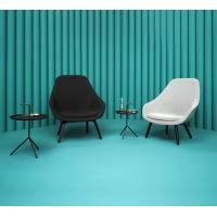 Buy cheap Fabric Hay Lounge Chair With Wood Legs , Modern Furniture Low Lounge Chair product
