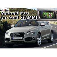 Buy cheap 2010-2015 AUDI 3G MMI Multimedia Car Navigation System for A4 A6 A8 Q5 Q7 rear view cast screen product