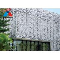 Buy cheap 3D Aluminium Decorative Panels / Solid Wall Panels For Building Decoration product
